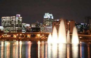 River, City Skyline